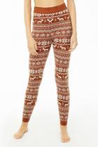 Forever21 Nordic Pattern Knit Leggings