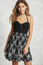 Forever21 Halter Lace Dress