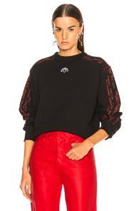 Adidas By Alexander Wang Crew Sweatshirt In Black