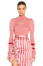 Maggie Marilyn Hold Tight Knit Top In Pink,red