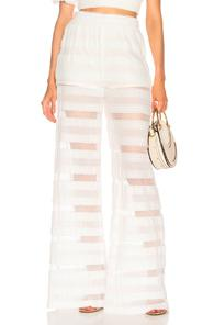 Jonathan Simkhai Cover Up Pant In White