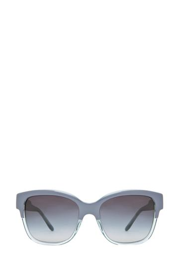 Stella Mccartney Grey Gradient Sunglasses In Blue