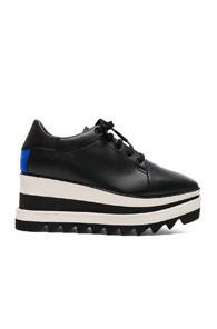 Stella Mccartney Sneakelyse Platform Sneakers In Black