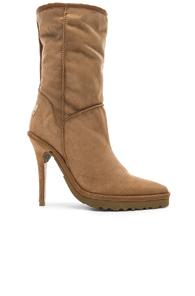 Y/project Sheepskin Ugg Ankle Boot In Neutral