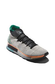 Adidas By Alexander Wang Run Mid In Gray