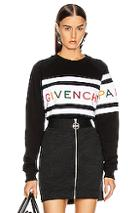 Givenchy Longsleeve Sweatshirt In Black