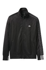 Adidas By Alexander Wang Jacquard Track Jacket In Black