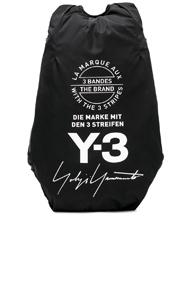 Y-3 Yohji Yamamoto Yohji Backpack In Black