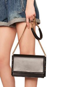 Saint Laurent Zoe Chain Bag In Black