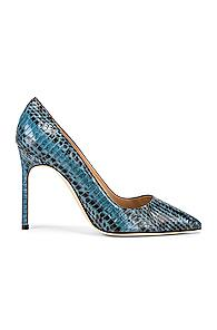 Manolo Blahnik Bb 105 Pump In Blue