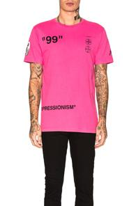 Off-white Boat Tee In Pink