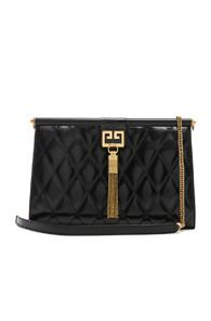 Givenchy Medium Gem Shoulder Bag In Black