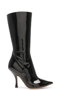 Y/project Chesterfield Boot In Black