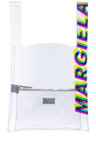 Maison Margiela Tote In White,neutrals