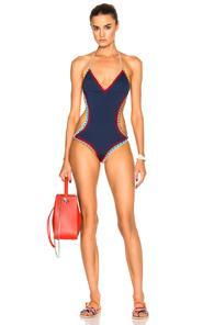 Kiini Tasmin Mono Swimsuit In Blue