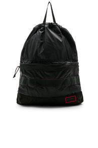John Elliott X Briefing 2 In 1 Backpack In Black