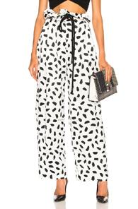 Off-white Poise Coulisse Pant In Abstract,white