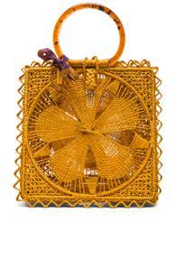 Silvia Tcherassi Luriza Bag In Yellow
