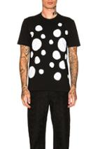 Comme Des Garcons Shirt Plain Patch Tee In Abstract,black,white