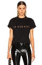 Burberry Sabeto Shirt In Black