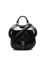 Maison Margiela Saddle Bag In Black
