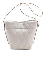Givenchy Mini Gv Convertible Bucket Bag In White