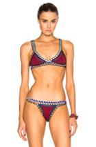 Kiini Soley Bikini Top In Red