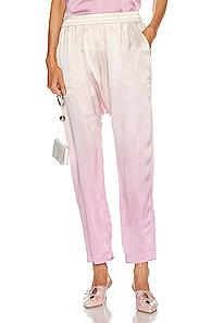 Raquel Allegra Sunday Pant In Ombre & Tie Dye,pink