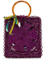 Silvia Tcherassi Luriza Bag In Purple