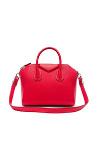 Givenchy Small Sugar Antigona In Red