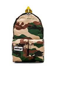 Off-white Backpack In Neutrals,abstract
