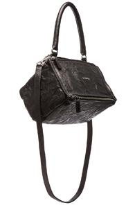Givenchy Old Pepe Small Pandora In Black