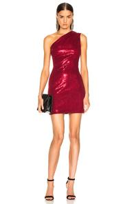 Haney For Fwrd Valentina Dress In Red