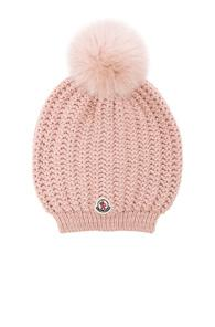 Moncler Berretto Beanie In Pink