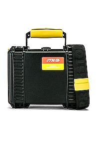 Heron Preston Tool Bag In Black,yellow