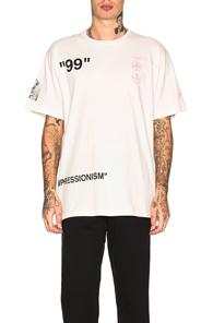 Off-white Boat Tee In White