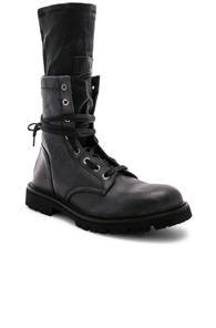 Rta Hybrid Combat Boot In Black