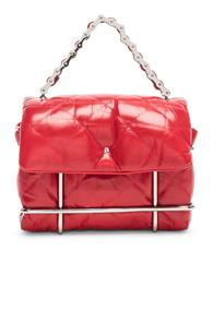 Alexander Wang Halo Quilted Bag In Red