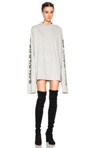 Vetements Oversized T Shirt In Gray