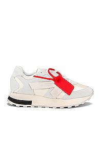 Off-white Runner Sneaker In White