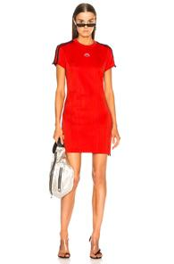 Adidas By Alexander Wang Dress In Red