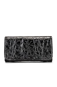Saint Laurent Niki Wallet In Black