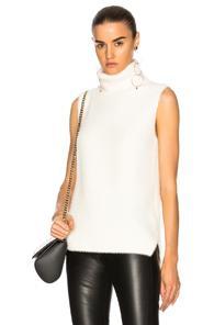 Michelle Mason Oversized Sweater In Neutrals,white