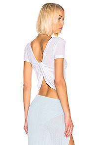 Jacquemus Sprezza Tshirt In White