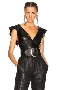 Isabel Marant Glenside Top In Black