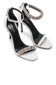 Calvin Klein 205w39nyc Camelle Heels In White