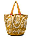 Sophie Anderson Jonas Floral Tote In Yellow,floral