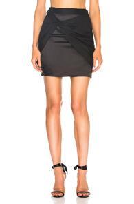 Helmut Lang X Shayne Oliver Sarong Skirt In Black