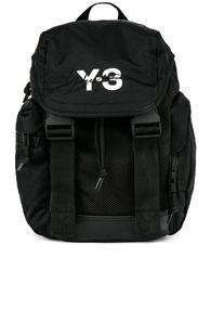 Y-3 Yohji Yamamoto Mobility Backpack In Black
