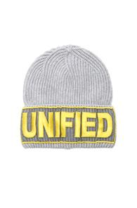 Versace Unified Beanie In Gray